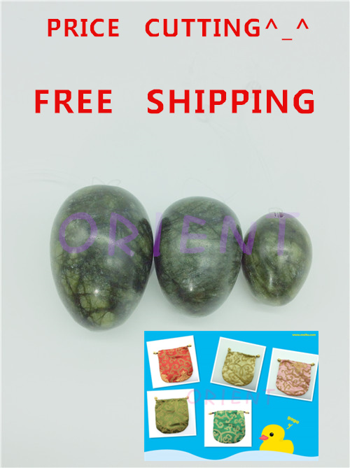 HIMABM Each package includes 10 sets Jade Eggs For Kegel Muscles Exercises strengthen pelvic floor muscles ben wa ball Yoni Egg includes