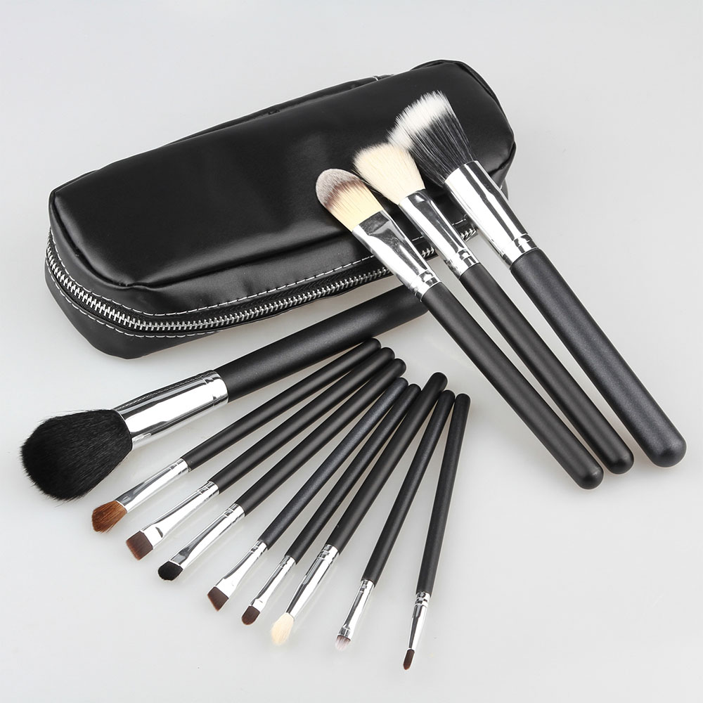 Professional 12pcs Makeup Brushes Powder Blush Eyes Face Brush Cosmetic Make Up Beauty Set Goat Hair