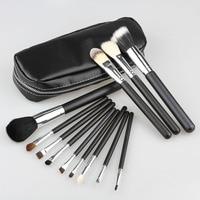 Professional 12pcs Makeup Brushes Powder Blush Eyes Face Brush Cosmetic Make Up Beauty Set Goat Hair