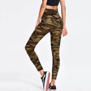 Fashion Women's Leggings Sexy Casual camouflage Leg Warmer Fit Moost Sizes Leggins Pants Trousers Woman's Leggings 2
