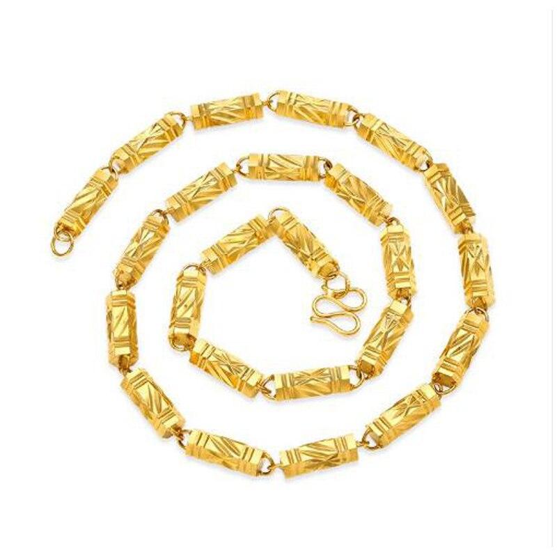 2019 Titane en acier de mode Nouveau arrivent offre spéciale or collier de couleur pour femme bijoux long collier B1