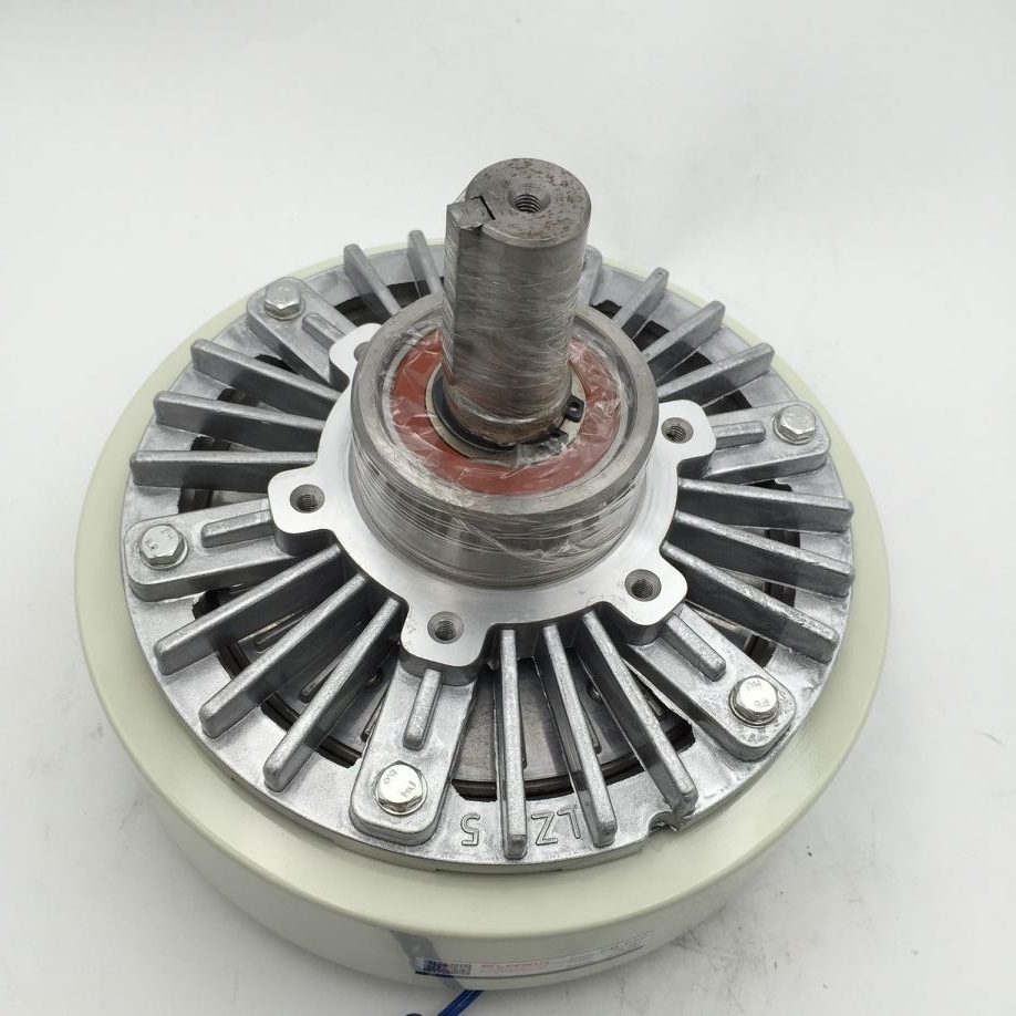 New Magnetic Powder Brake for Printing Press  50NM Rated torque DC24V 1800RPM Center Distance 100mm Single Shaft 25mm press brake dies press brake moulds tooling for hydralic bending machine
