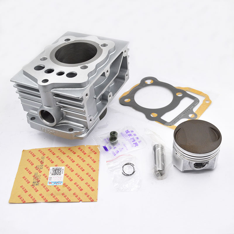 High Quality Motorcycle Cylinder Kit For BASHAN CG175 CG200 CG 175 200 175cc 200cc Engine Spare Parts high quality motorcycle cylinder kit for