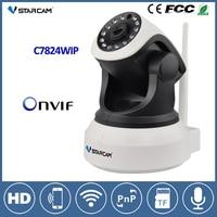 Vstarcam C7824WIP Wifi IP Camera 720P HD Night Vision Wireless Camera CCTV Onvif Network Audio Video