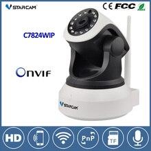 VStarcam C7824WIP Wi-Fi IP Камера 720 P HD ночного видения Беспроводной Камера CCTV ONVIF сети аудио-видео наблюдения безопасности