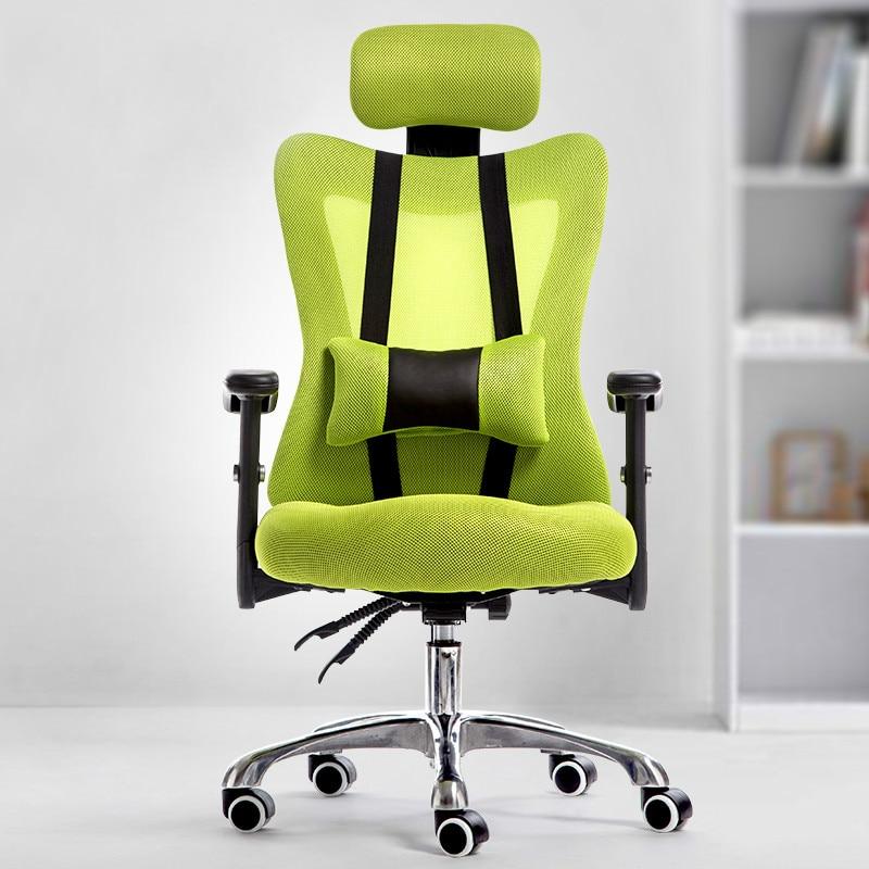 Ergonomic office chair mesh cloth boss chair swivel lift computer chair free shipping computer chair net cloth chair swivel chair home office