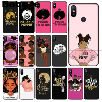 Babaite 2bunz Melanin Poppin Aba Customer High Quality Phone Case For redmi 5plus 5A 6pro 4X note5A note4x note6pro 6A coque image
