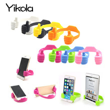 Phone Holder Bed Thumb Cell Smartphone Tablet Accessory Mount Stand Support Desk Desktop Table Stents For iPhone/Samsung