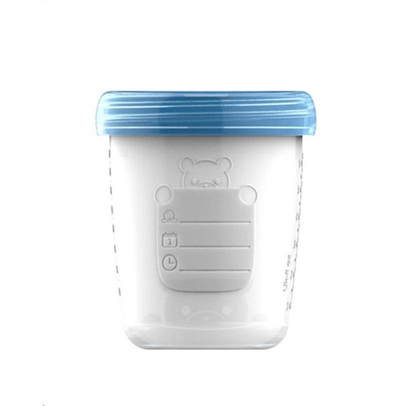 Lagerung Von Lebensmitteln Mutter & Kinder Selbstlos Baby Muttermilch Lagerung Flasche Sammlung Bpa Freie Produkte Food Grade Pp Infant Lebensmittel Gefrierschrank Container 180 Ml Kapazität Mbg0337