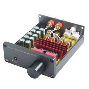 Image 3 - Breeze amplificador de áudio, classe d, hifi, amplificador de potência digital, pro tpa3116, avançado 2*100w, mini casa, alumínio enclosure amp