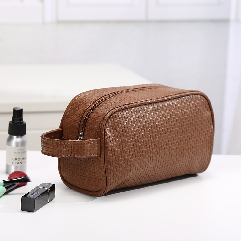 UOSC Waterproof Toiletry PU Bags Leather Travel Cosmetic Bag Organizer Women Makeup Bag Neceser Make up Case Beauty Storage Bags