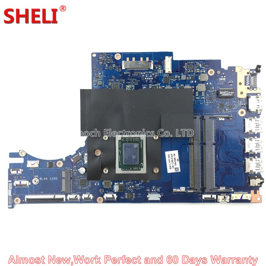 SHELI 813021-601 813021-501 813021-001 Laptop Motherboard For HP Envy 15Z-AH M6-P M6-P113DX Series ACW51 LA-C502P FX-8800P 2.1GH 760042 501 for hp probook 760042 001 760042 501 m6 n laptop motherboard quality goods 100% tested