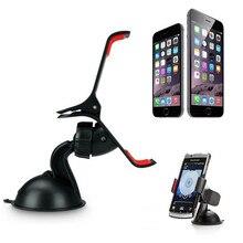 Универсальная автомобильная стойка-держатель на кронштейне для ветрового стекла для iPhone 5S 6 S/6 Plus телефон gps Прямая поставка 0619