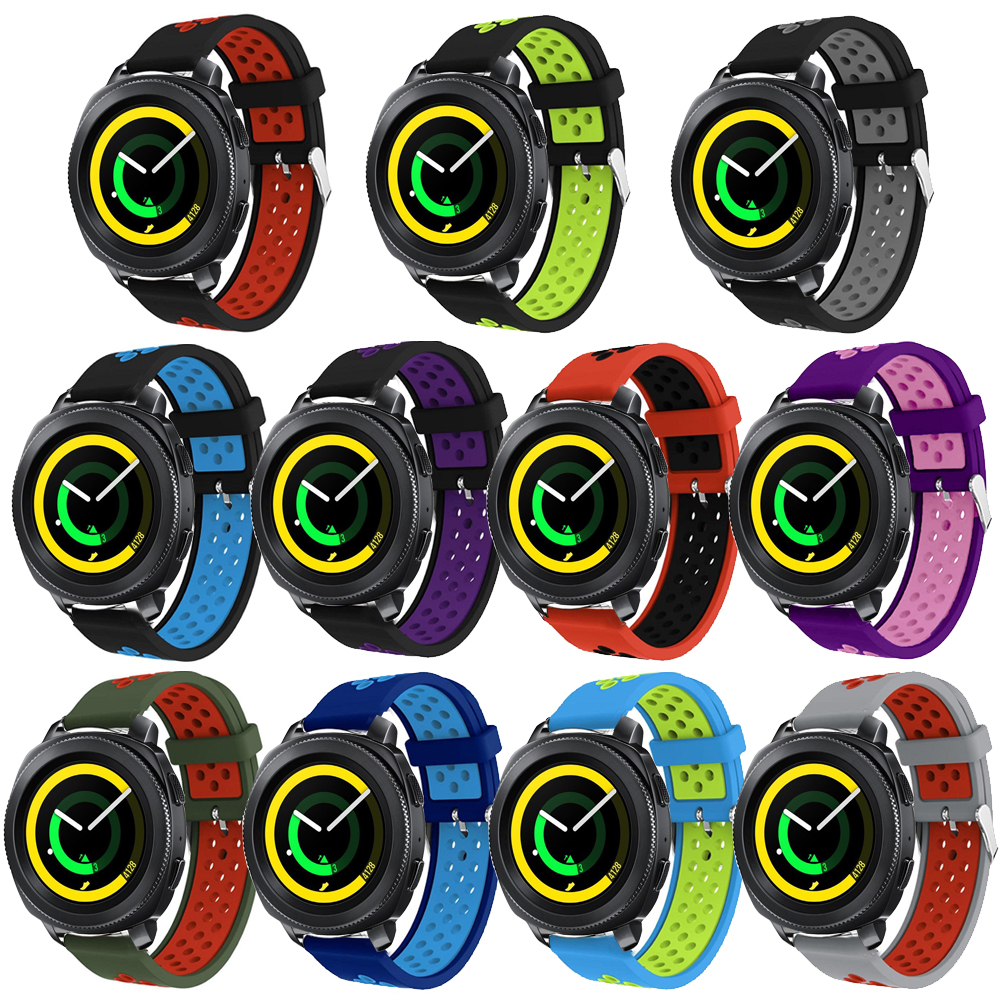 Soft Sport Silicone Watch Band Strap for Samsung Gear Sport Smart Watch Bracelet Replacement 20mm wrist band for gear s4 strap цены