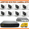 4CH 1080P CCTV System POE NVR 1080P Video Output 4Pcs POE IP Camera 720P 1 0mp