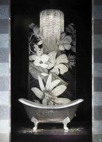 Роскошная мозаика Плитки серебро ванная комната
