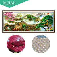 The United States Coast New 5D Diamond Painted Landscape Yingkesong Drill Room 2 Meters A Picture