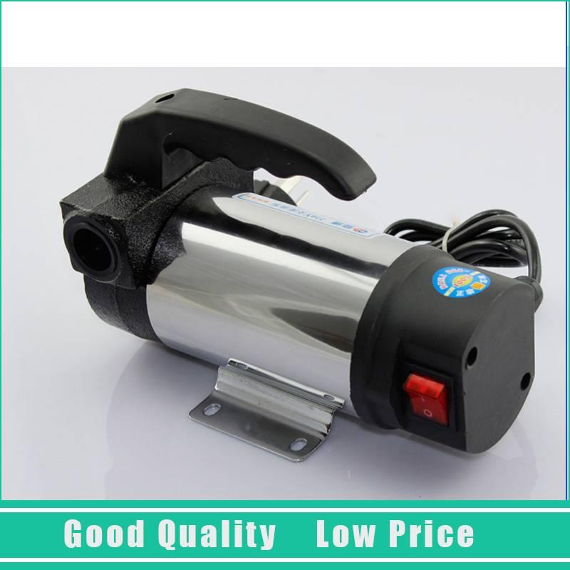 220 v monophasé électrique 60L/min pompe à huile Portable pompe de transfert de carburant