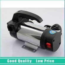 220 В однофазного 60L / min портативный масляный насос топливного насоса