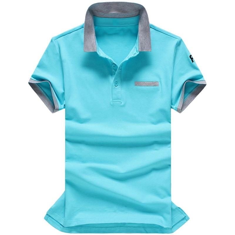 Plus Size M-3XL Brand New Cool men's   polos   shirt men short sleeve Patchwork cotton shirt jerseys   polo   shirts Pocket 2XL 3XL