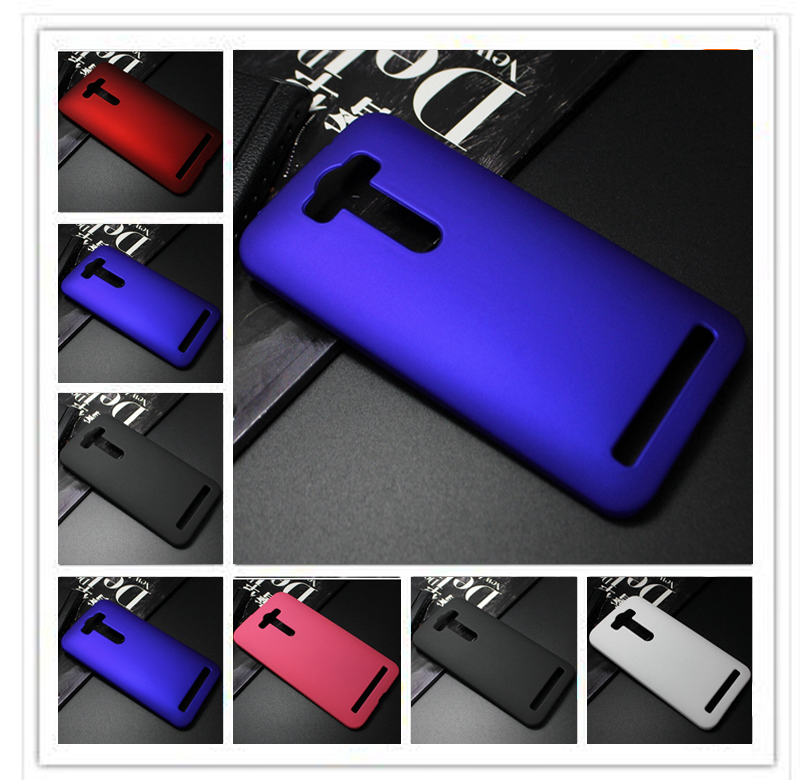 Hard Plastic Rubber Phone Case For Asus Zenfone 2 laser ZE500KL ZE500KG Coque for Asus Zenfone 2 lazer ZE500KL 5 Back Cover image