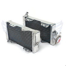 high quality Motorcycle parts Replacement Grille Guard Cooling Cooler Radiator Left Moto for Honda CR250 CR250R 2000 2001