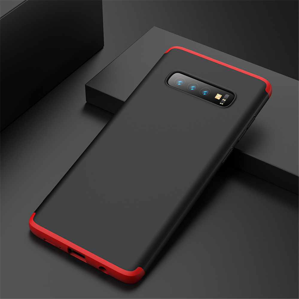 360 Full Protection Case For Samsung S10 Case Luxury Hard PC Shockproof Back Cover Case For Samsung Galaxy S10 E Plus Fundas