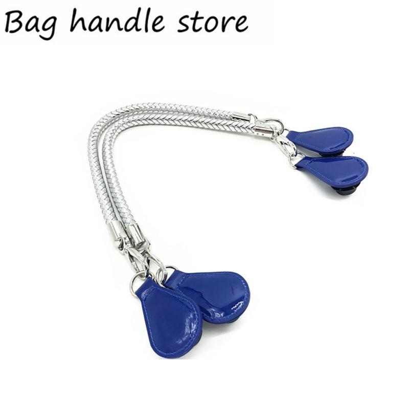 new sliver and black color handle for obag Bags Shoulder Handbag drops for O Bag 70 cm 65 cm handle