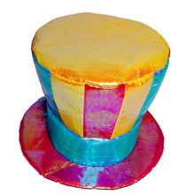 Colorful Circus Clown Hat Adults Magic Top Hats Carnival Party Hats  Fancy Dress Decoration  Halloween Christmas