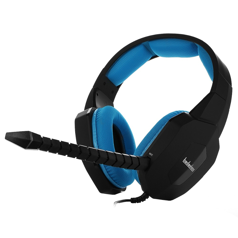 HUHD BDS-939P Gaming Headset for PS4, Smartphone , Tablet , PC (Laptop & desktop) and Mac , XBox One (BLUE)