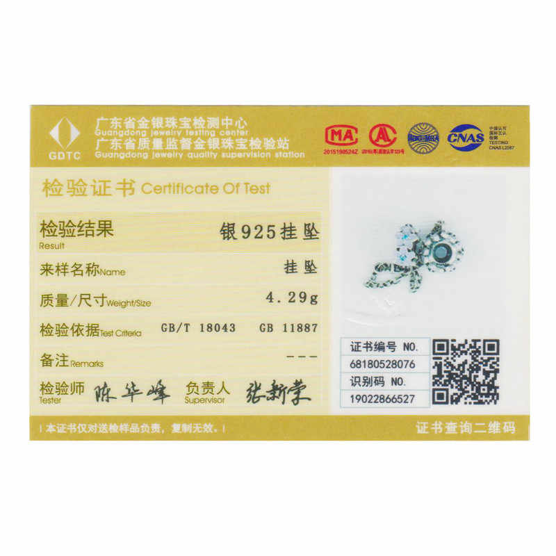 Wostu Hot Sale 925 Sterling Silver Bunga Anggrek Silikon Safety Chain Pesona Fit Wostu Asli Manik-manik Gelang Perhiasan CQC602