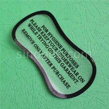 Гигиеническая этикетка прозрачная лента, купальный костюм нижнее белье трусики бикини примерить стикер полосы этикетки клей фитинг защитный вкладыш