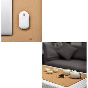 Image 5 - Original xiaomi mijia oak natural softwood mouse pad anti fouling waterproof Ultra Soft Computer Mouse Padding Mat touch natural