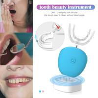 360 Degree Electric Toothbrush Teeth Fully Automatic Variable Frequency Cold Light Whitening Device Automatic Toothbrush