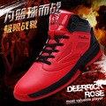 Nuevos zapatos de baloncesto resistentes al desgaste transpirable zapatos de gran tamaño botas alta ayuda de ocio zapatos de los deportes de los hombres es zapatos de gran código