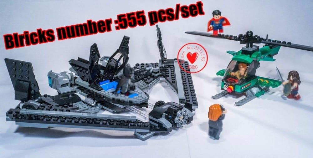 7118 DC Batman model Building Blocks Superes Heroes Batmobile justice league diy bricks Toys compatiable legoes gift kid set
