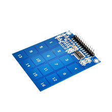 16 Way XD-62B TTP229 Capactive Touch Switch Digital Sensor IC Module Board Plate 49.3mm*64.5mm For Arduino