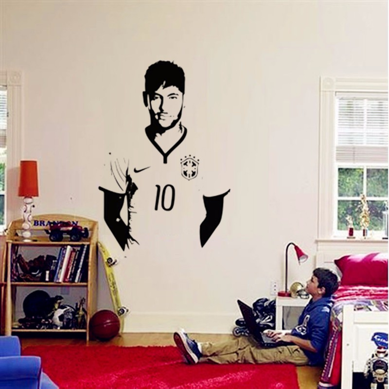 Aliexpress.com : Buy 2016 New Messi Poster Decals For Boys Bedroom Wall Art  Decoration Removable Vinyl Wall Art Home Decor 3D Character Mural From  Reliable ... Part 85
