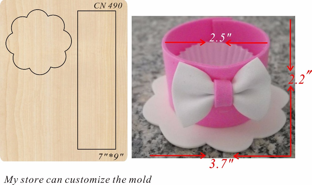 Cake packaging new wooden mould cutting dies for scrapbooking Thickness 15 8mm