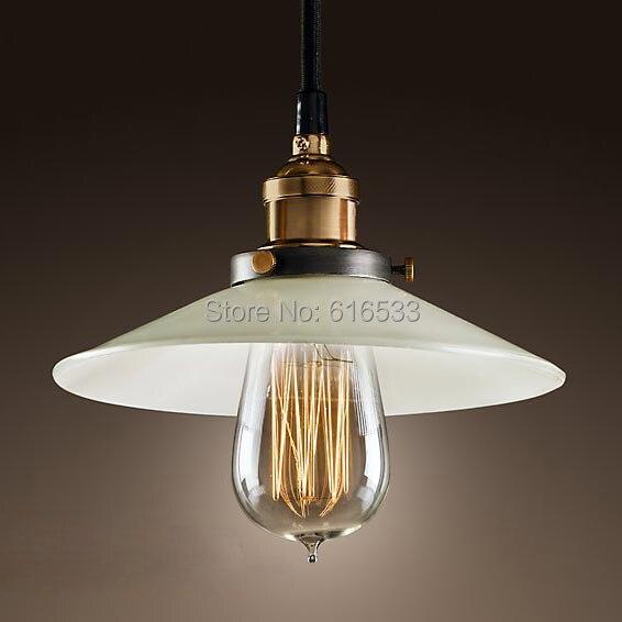 Retro Vintage Loft Industrial American Lustre Glass Edison Pendant Lamp Kitchen Dinning Living Room Modern Home Decor Lighting