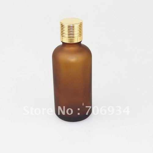 35Pcs/lot Amber Glass bottle Essential Oil Bottles Perfume Bottle 50 ml