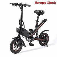 Electric Bikes Adults Two Wheels Electric Bicycle Protable 12 Inch 350W Electric Bike Mini E Bike