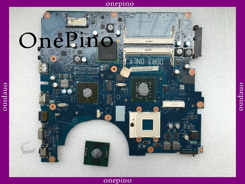 With CPU BA92-06345B fit for NP-R530 R530 laptop motherboard BA92-06345A PM45 GT310 system board fully tested working