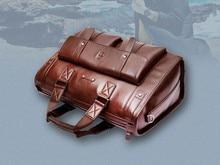 Free Shipping New male high-quality retro bag shoulder bag Messenger bag large-capacity travel business briefcase