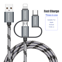 Get more info on the SB Cable Charging Charger 3 in 1 Micro USB Cable For Android USB TypeC Mobile Phone Cables For Samsung S9 For iPhone 6 7 8 XS X