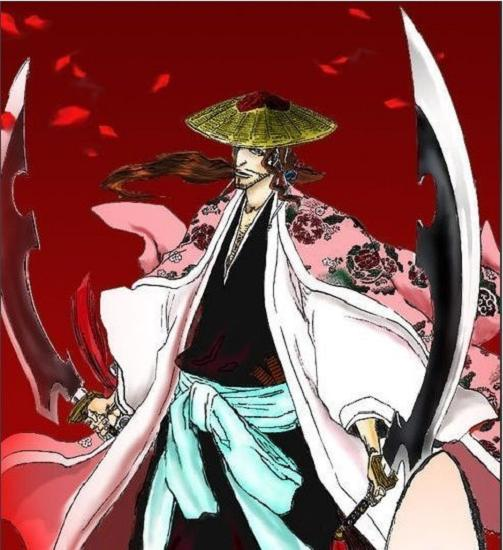 S0248 BLEACH KYORAKU SHUNSUI KATENKYOUKOTSU TWIN DOUBLE SWORDS GUN METAL 36