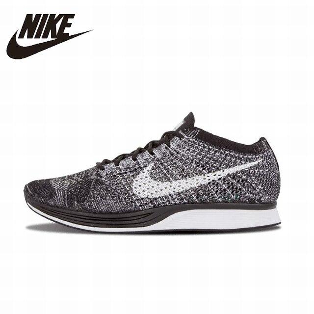 Nike Flyknit Racer оригинальный Для мужчин S & Для женщин S Кроссовки обувь супер свет дышащей сетки Спортивная обувь для Обувь унисекс