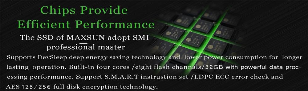 Terminator SSD Maxsun X6 512gb MS512GBX6L SATA 6Gb/s ssd state drives  100*69 8*7 1mm SMI 540MB/s gray 42 1g weight alloy desktop