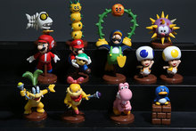 Super Mario Bros Mini Figure Toy 13pcs/set PVC Doll Action Figure 3.5-6CM Series 5