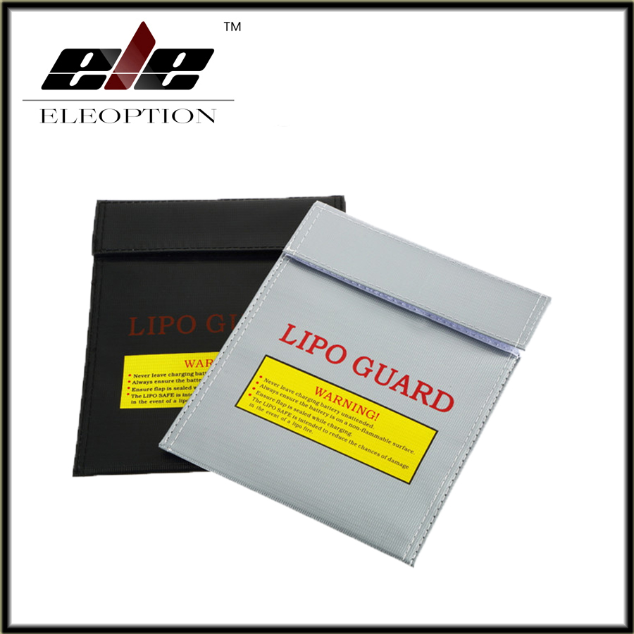 2 PCS/Lot Ignifuge RC LiPo Sécurité de La Batterie Sac Safe Guard Charge Sack 18*23 cm pour RC Quadcopter Batterie sac